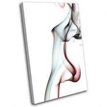 Smoke Lady Abstract - 13-1585(00B)-SG32-PO